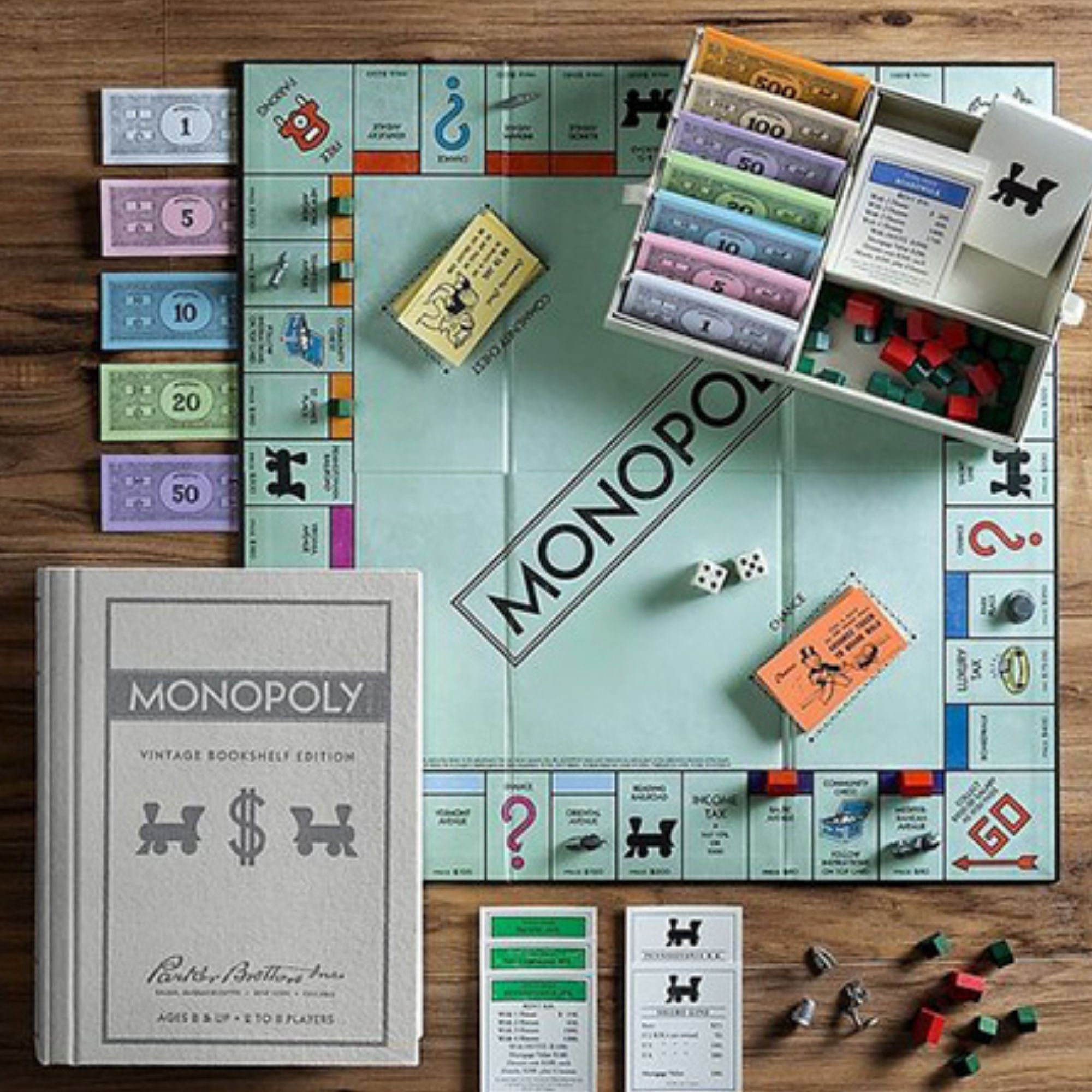 Monopoly table gameboard