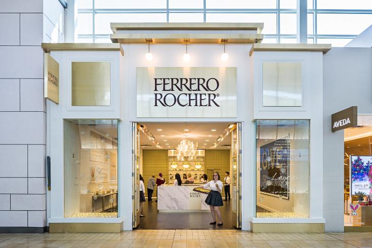 Ferrero Rocher Pop Up