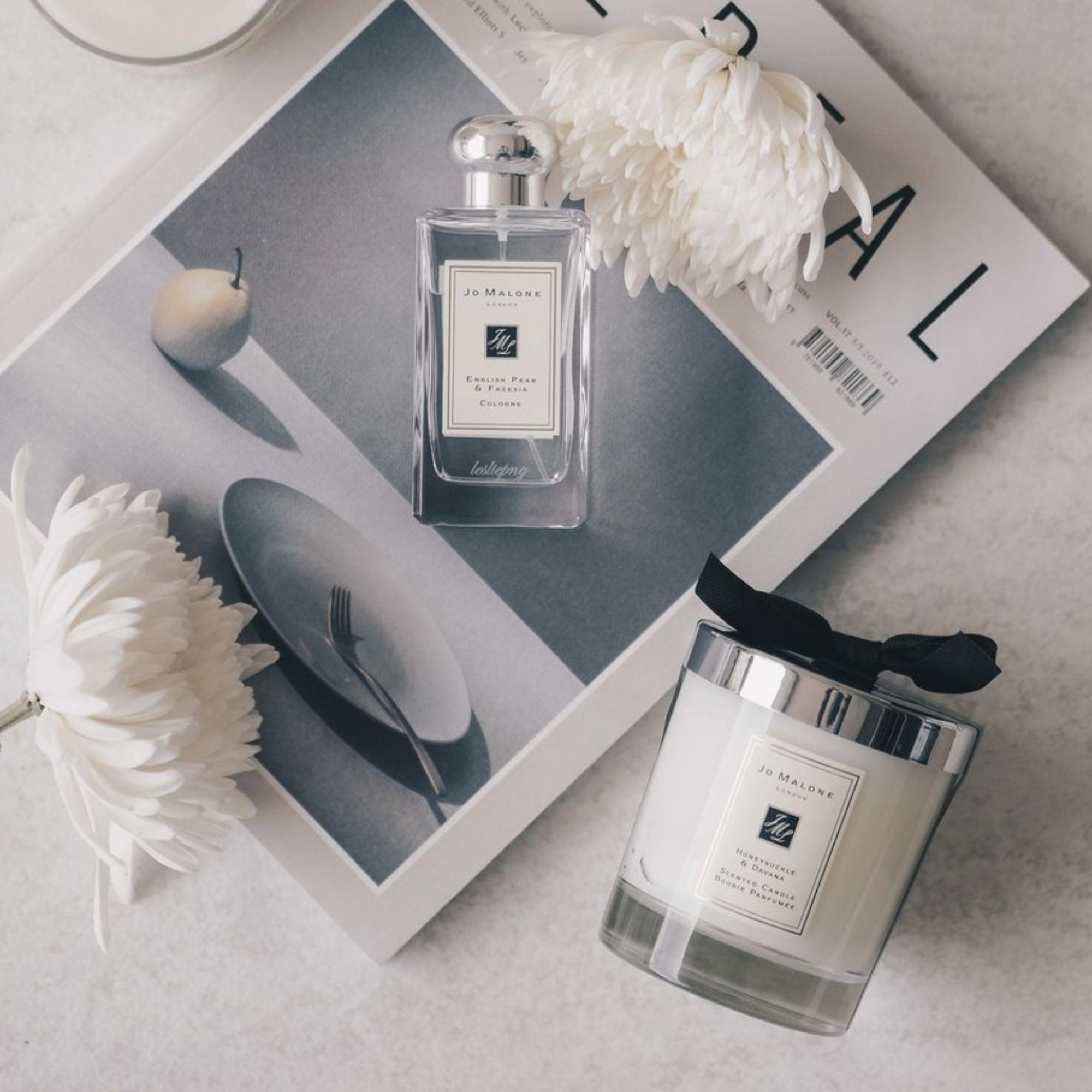 Jo Malone candles and scents