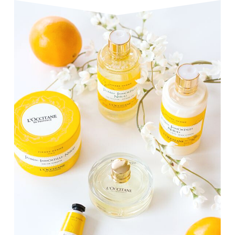 Refillable beauty products by L'Occitane