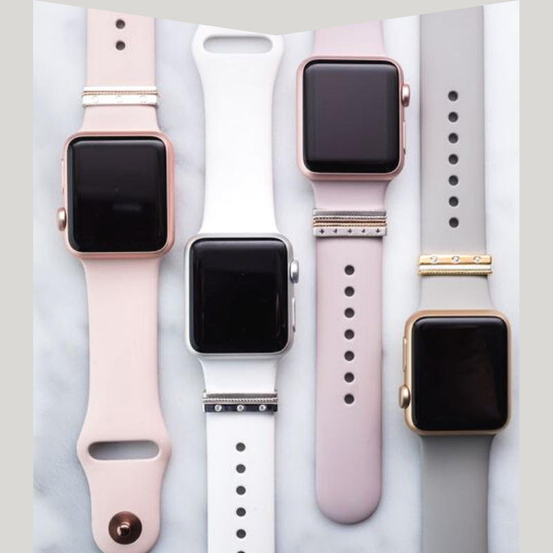 Four apple watches