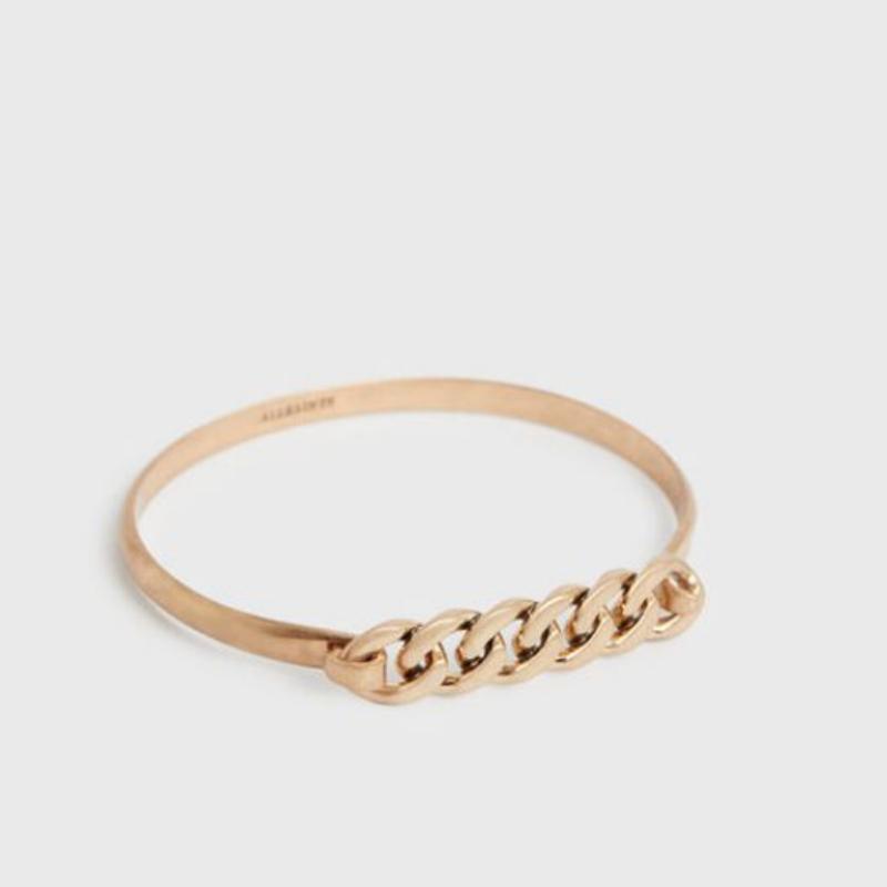 All Saints gold bracelet