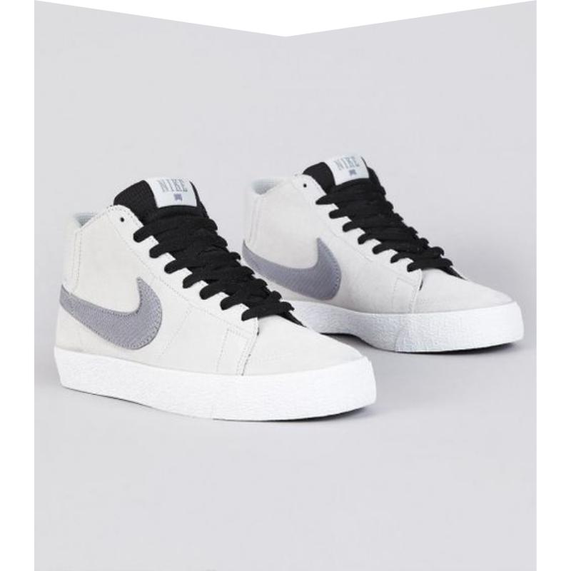 White Nike casual sneakers