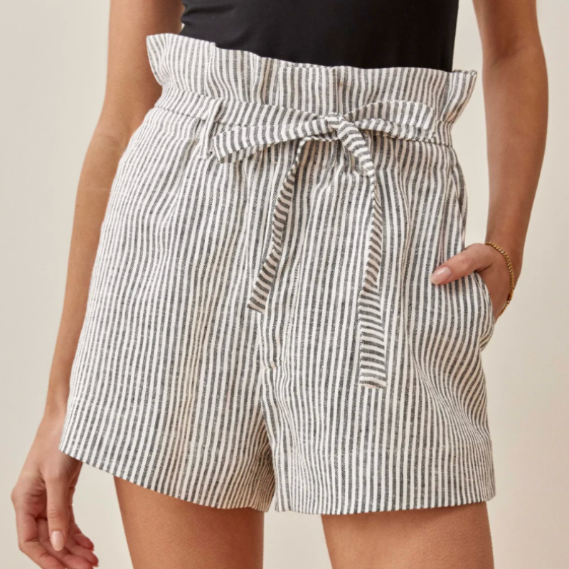 Striped shorts from Reformation