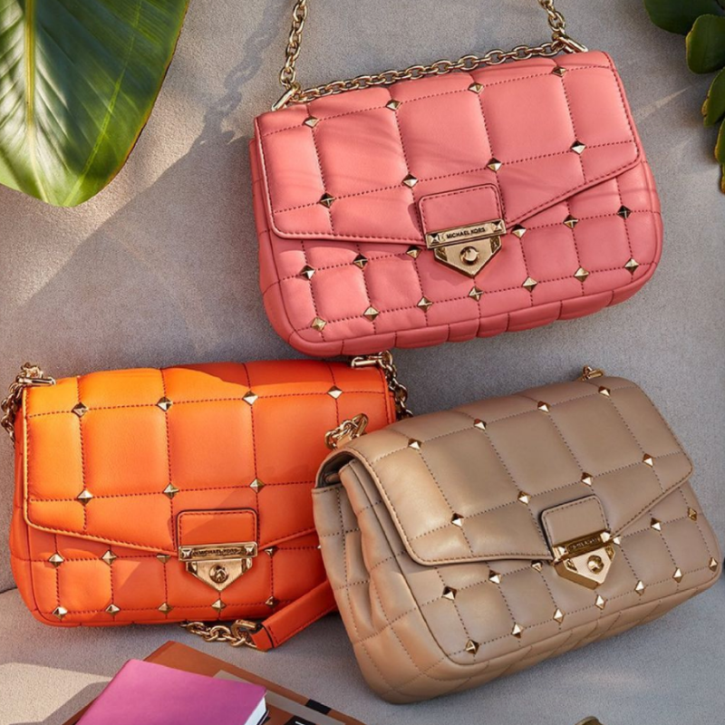 Studded purses from Michael Kors