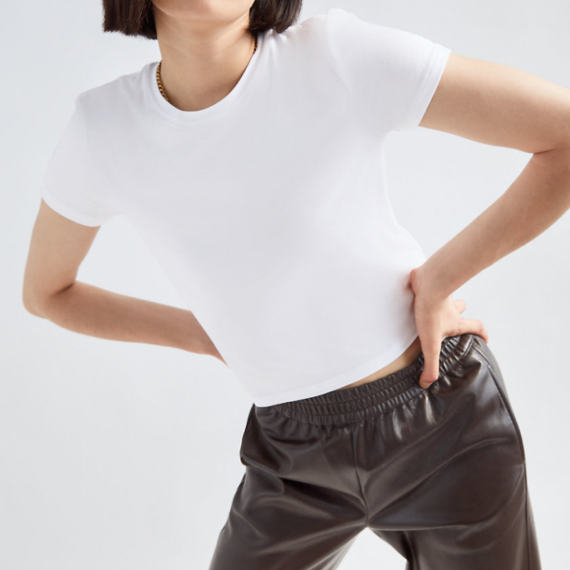 Babaton white t-shirt
