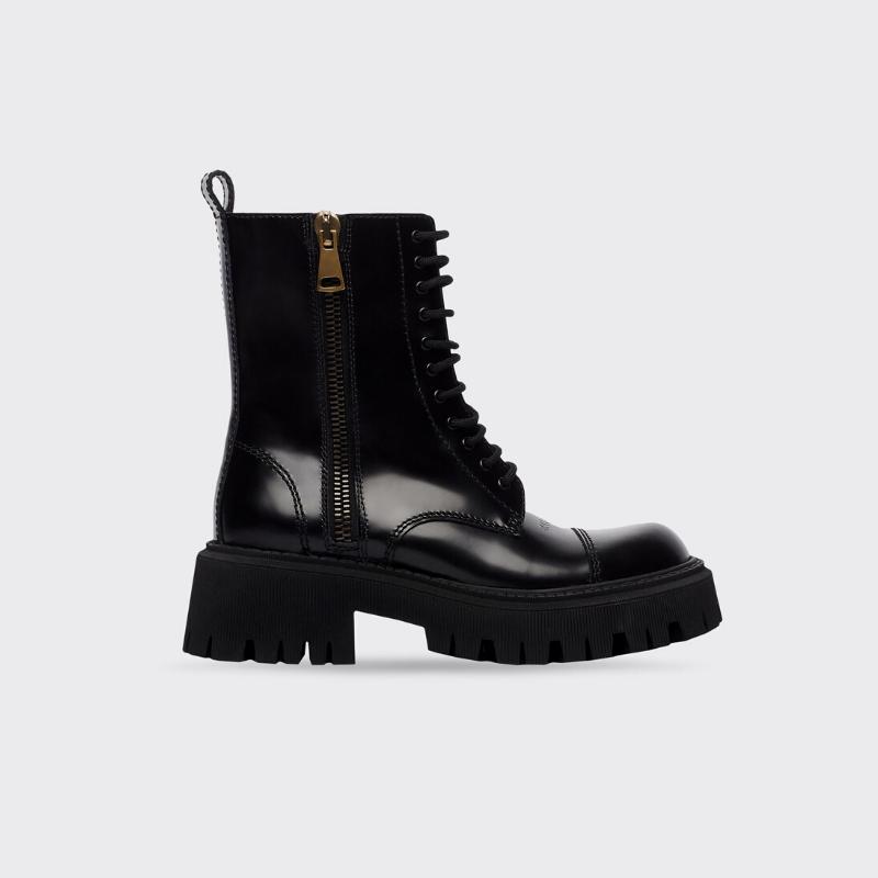 Balmain combat boot