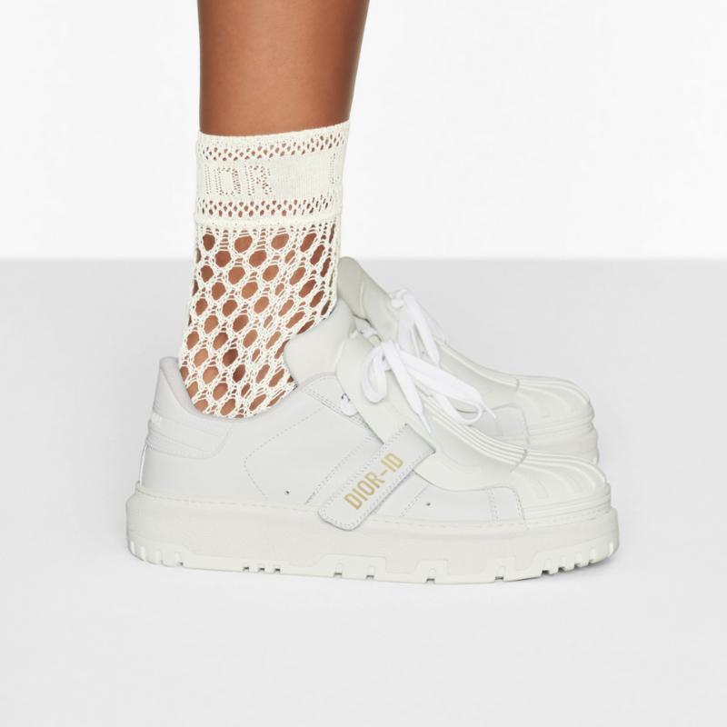 white Dior sneakers
